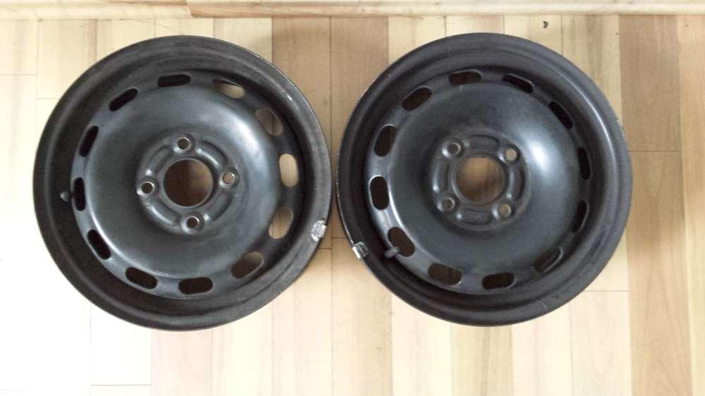 2 x Stahlfelgen für Ford Fiesta,Fusion,Focus,Mondeo  5,5Jx14CH  4x108  ET:47,5