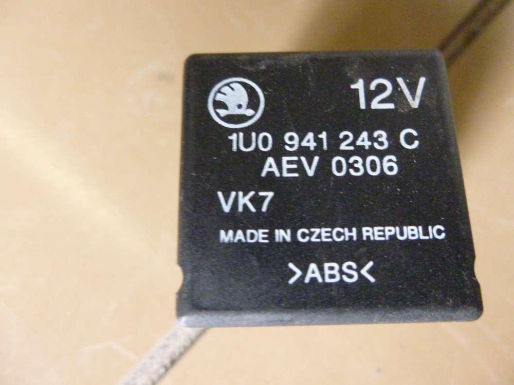 Skoda Octavia  Relais ABS 12V 1U0941243C / AEV 0306