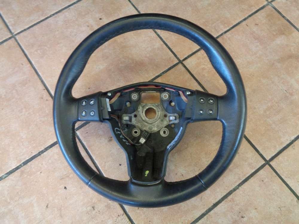 Seat Altea 5P Lenkrad Lederlenkrad ohne Airbag 5P0419091C