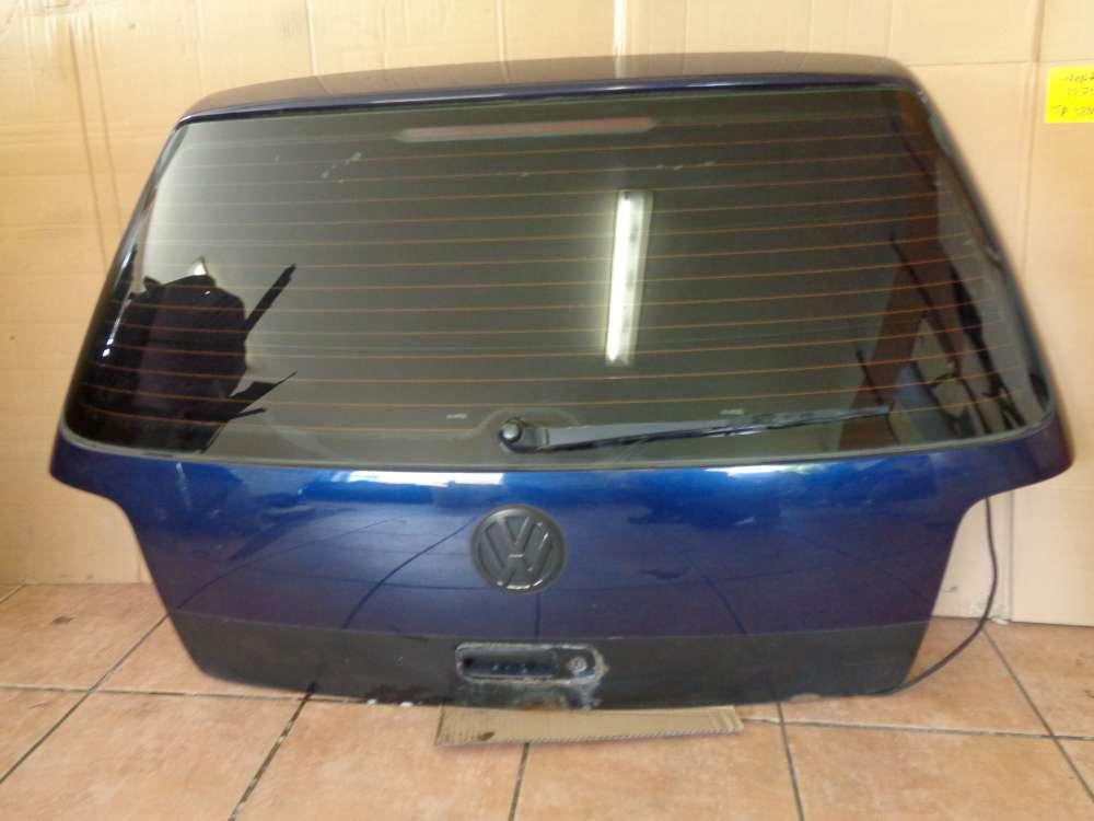 VW Golf 4 Bj 98 Limousine Heckklappe Kofferraumklappe Klappe Indigoblau LB5N