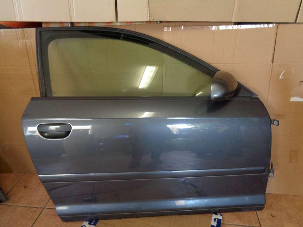 Audi A3 8P Bj:2003 3 Türer Tür Beifahrerseite Vorne Rechts grau LX7Z
