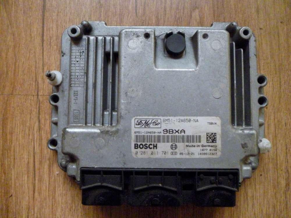 Ford Focus Kombi Diesel Bj:2006 Motorsteuergerät Steuergerät 6M51-12A650-NA