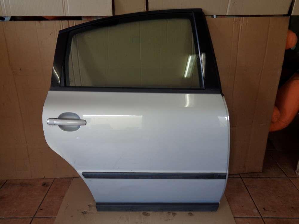 VW Passat 3B Limousine Bj:2000 Tür Hinten Rechts Silber Farbcode LB7Z: