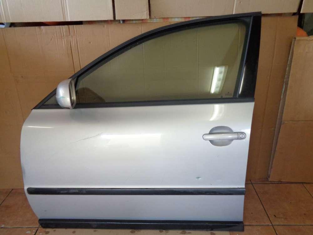 VW Passat 3B Limousine Bj:2000 Tür Vorne Links Silber Farbcode LB7Z: