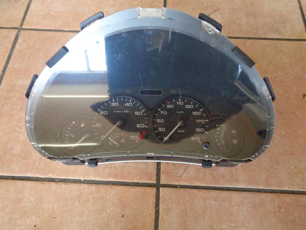 Peugeot 206 Bj:2000 tacho kombiinstrument 160000 KM 9634961380