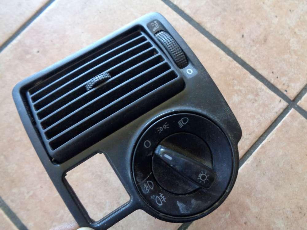 VW Golf 4 Lüftungsgitter Luftdüse mit Lichtschalter 1J0815715 1C0941531