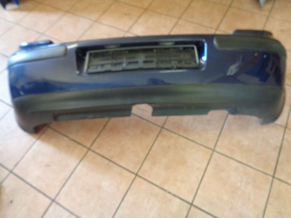 VW Golf IV Bj:1998 Stoßstange Heckschürze Hinten 1J6807417 LB5N Indigoblau