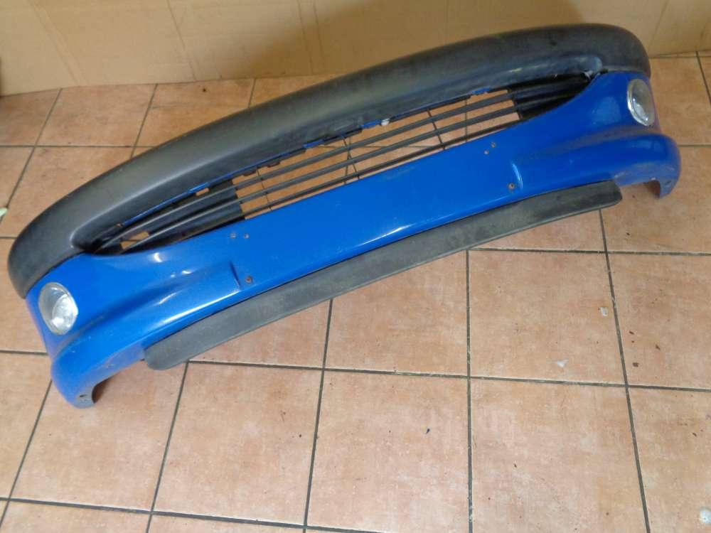 Peugeot 206 Bj:2000 Stoßstange Stoßfänger Vorne 9625078477 Blau Farbcode : EHJ