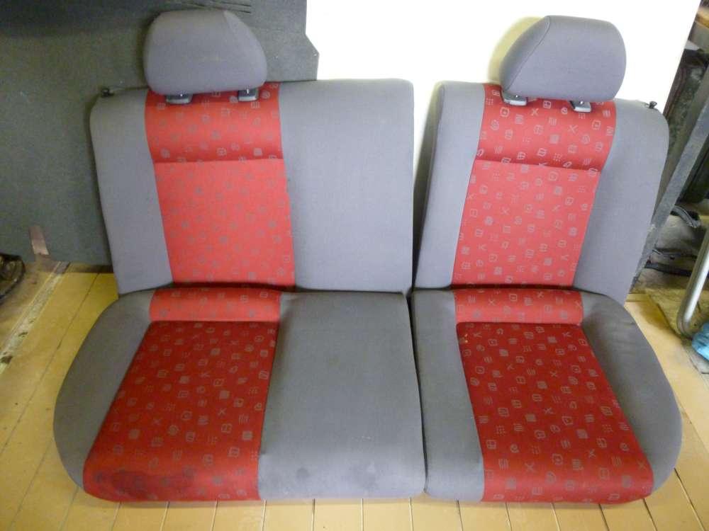 Seat Ibiza 6K Sitz Hinten Rücksitz Rücksitzbank Sitzbank 6K0 011055C/ 6K0010055C