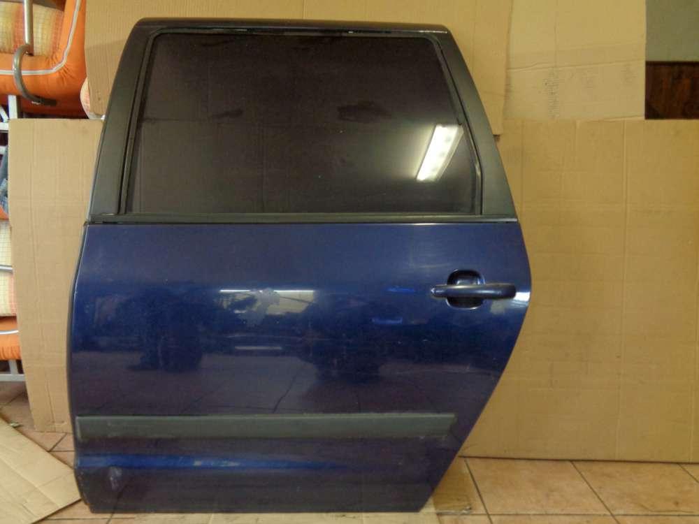 VW Sharan BJ 2003 7M Tür Hinten Links Blau Farbcode : LB5N
