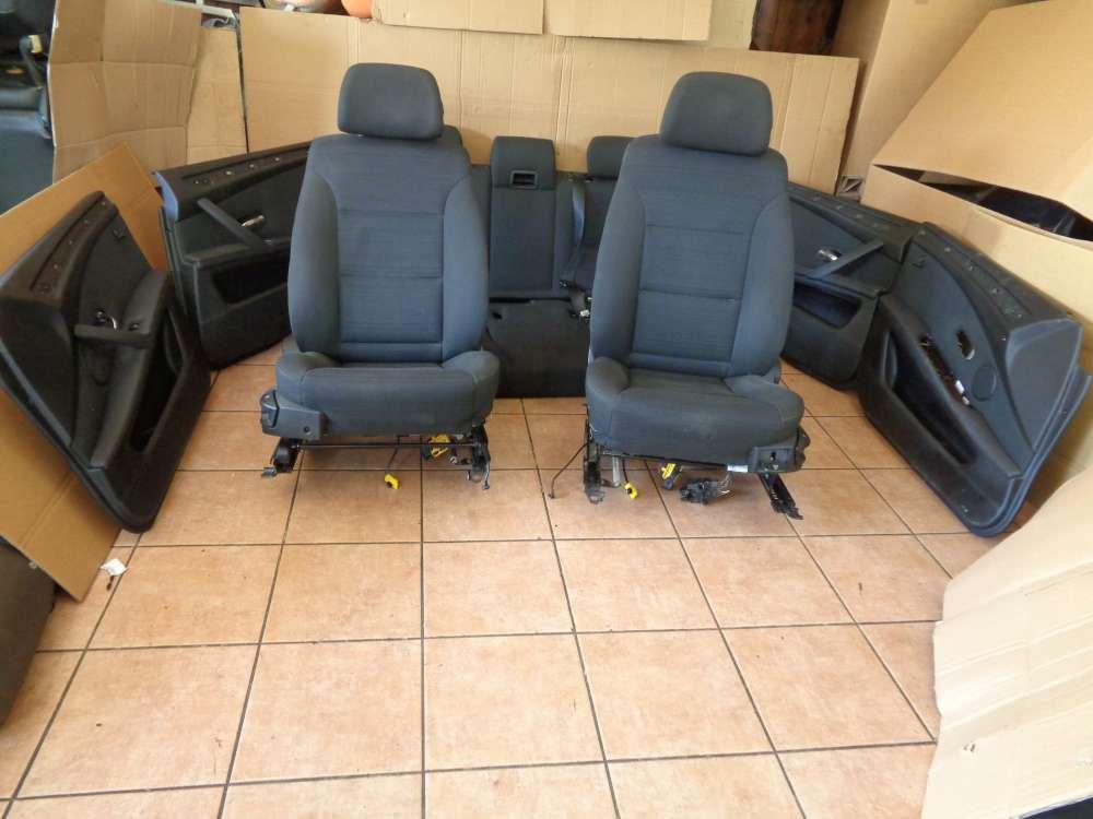 BMW 5er E61 Kombi Ab:2007- 2010 Sitze Komplett Innenausstattung grau Stoff