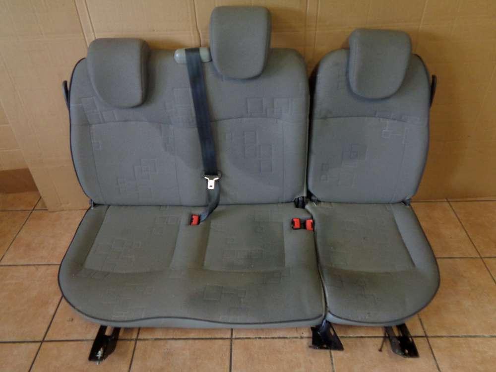 Renault Kangoo KC Sitze Rücksitz Rücksitzbank Sitzbank Stoff