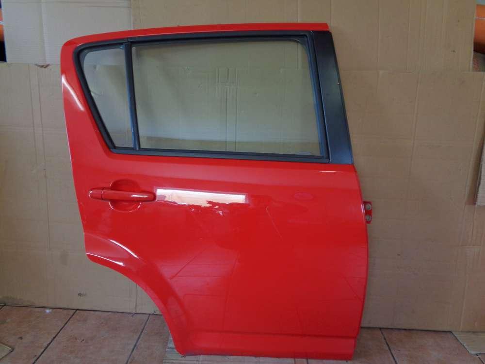 Daihatsu Sirion M3,M300 Bj:2009 Tür Hinten Rechts Rot Farbcode : R40