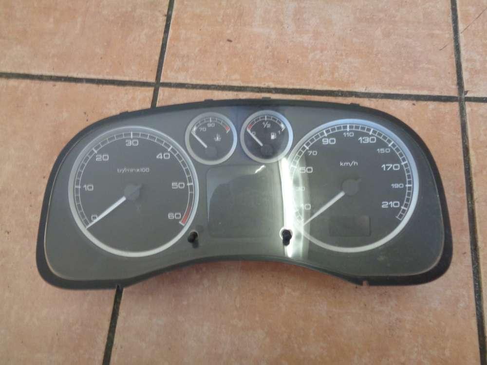 Peugeot 307 RHR Bj:2004 Tacho Kombiinstrument 293066KM P9651299680