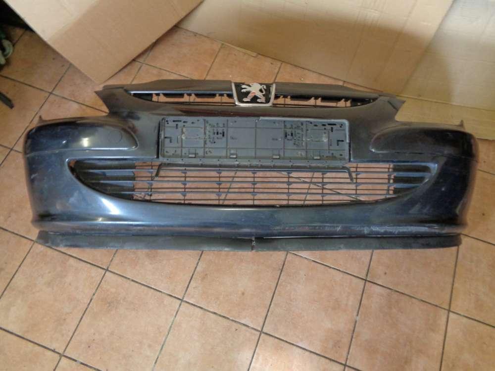 Peugeot 307 Kombi RHR Bj.2004 Stossstange Vorne 9643067477 Schwarz Farbcode: EXLD