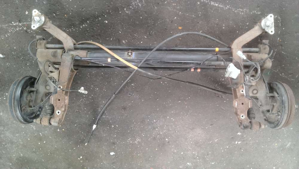 Citroen Xsara Picasso 1.8 (N68) Achsträger Achse Hinterachse hinten