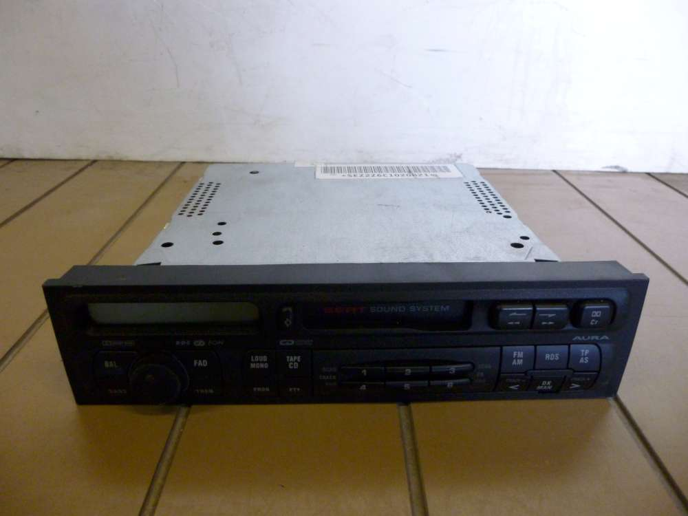 Original Seat Leon Bj 2001 Radio Aura Sound System 1M0035186J