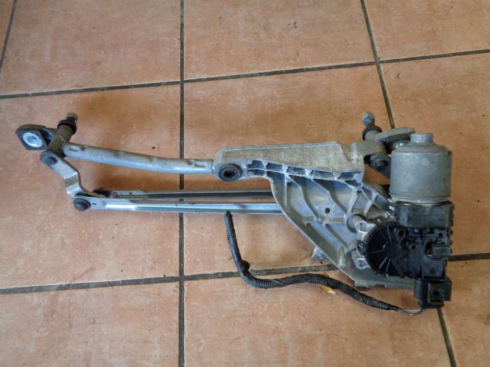 Ford Fiesta VI Wischermotor mit halter Vorne 8A61-17B571AA  8A61-17500AD