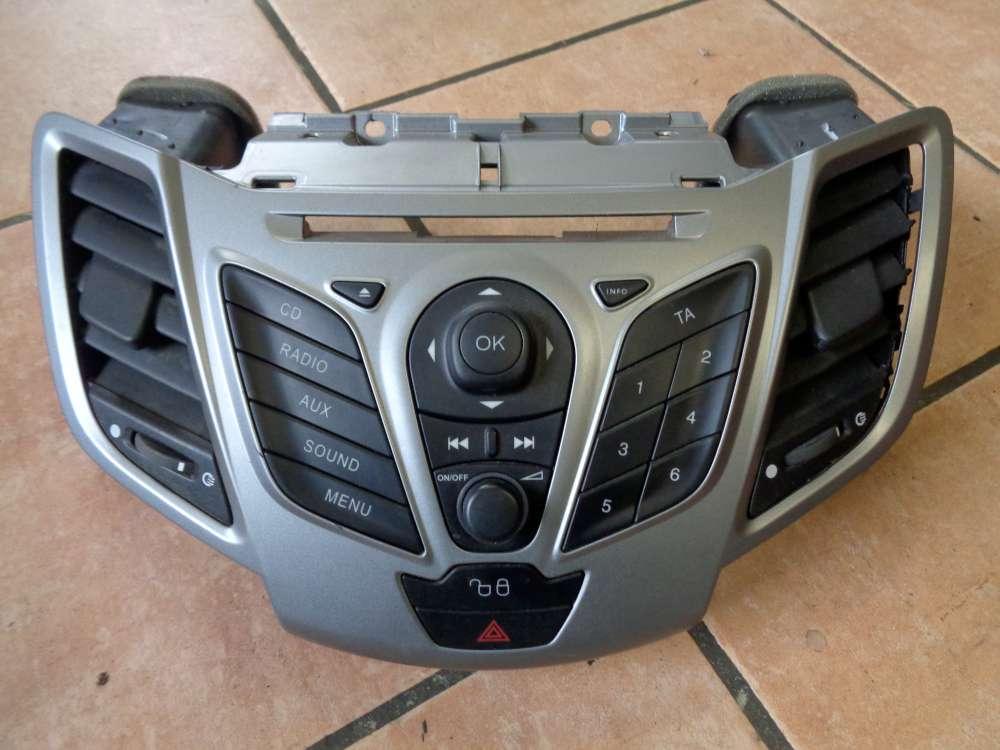 Ford Fiesta VI Schalter Radio Mittel 8A6118A802AGW 8A6T18K811AD