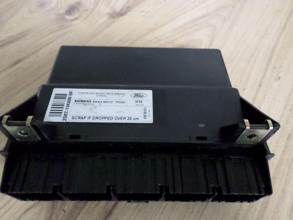 FORD FIESTA Orginal Steuergerät Zentralverriegelung Siemens  5WK48031CT83SA