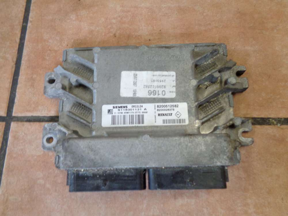Renault Kangoo KC Motorsteuergerät 8200512582