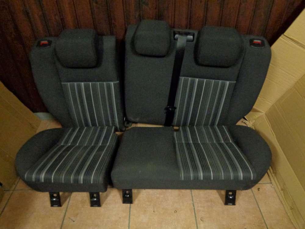 Ford Focus DA3 Sitze Rücksitz Rückbank grau Stoff
