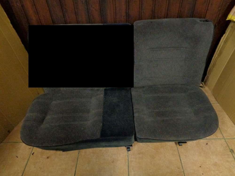 VW Golf 3 Vento Sitze Rücksitz Rückbank Stoff 1H0885356