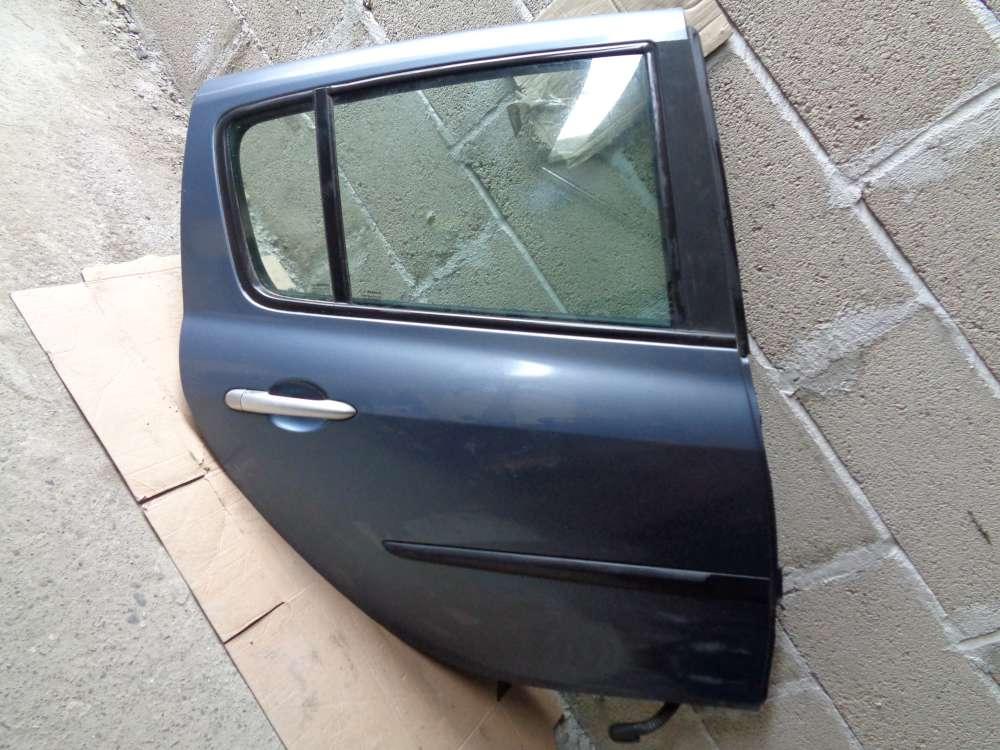 Renault Clio 3 Limousine Tür Hinten Rechts grau