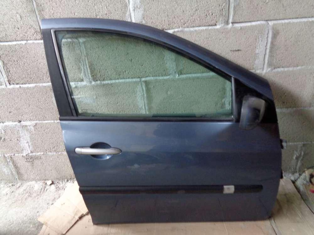 Renault Clio 3 Limousine Tür Vorne Rechts grau
