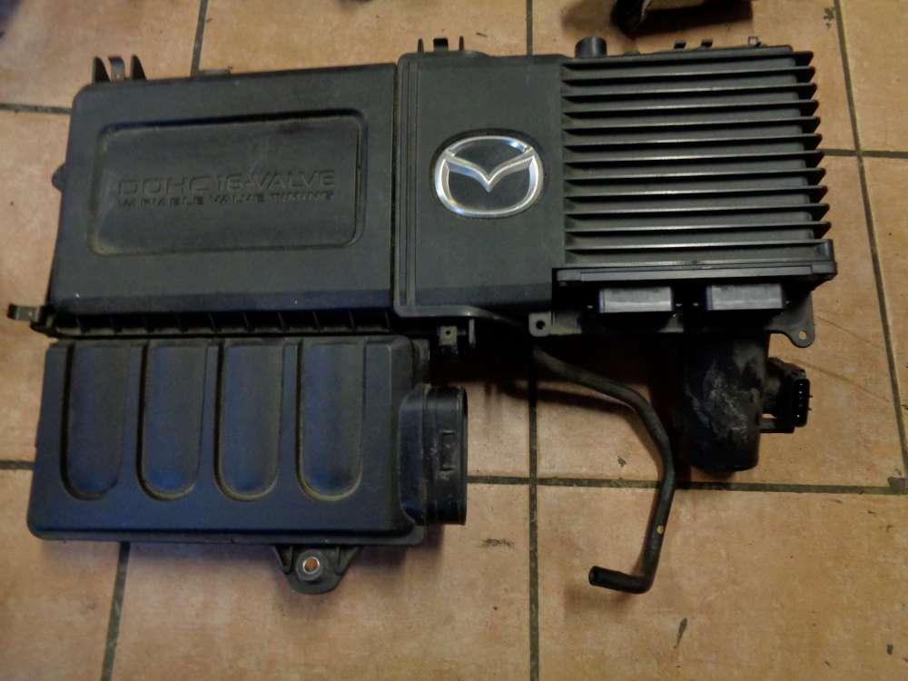 Mazda 3 BK 1.6i Bj:2004 Luftfilterkasten Luftfiltergehäuse Motorabdeckung 100140-7041