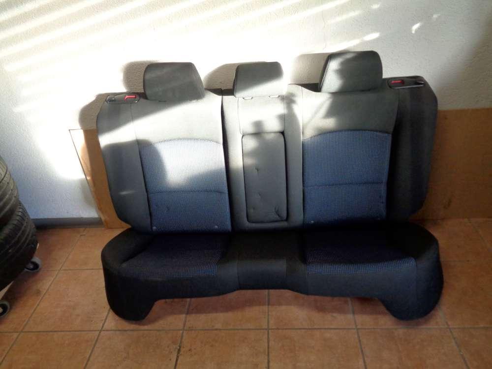 Mazda 3 BK Sitze Rücksitzbank Rücksitz Hinten Stoff