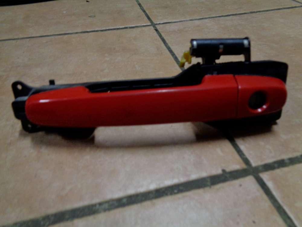 Daihatsu Sirion M3 Außentürgriff Türgriff Vorne Links Rot Farbcode: R40