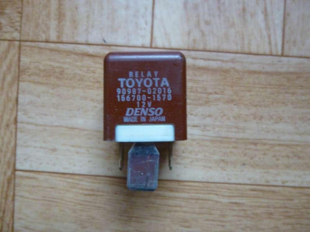 Toyota Yaris  Diverse Relais 90987-02016 -12V