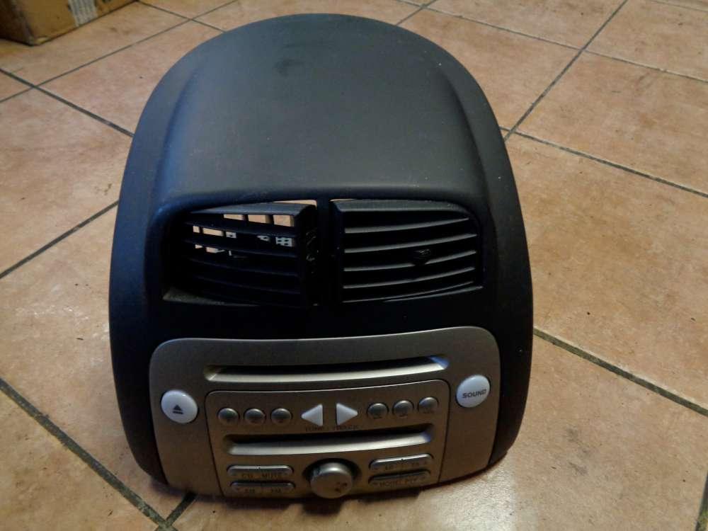 Daihatsu Sirion Radio CD mit Verkleidung und Lüftungsdüse 86180-B1161