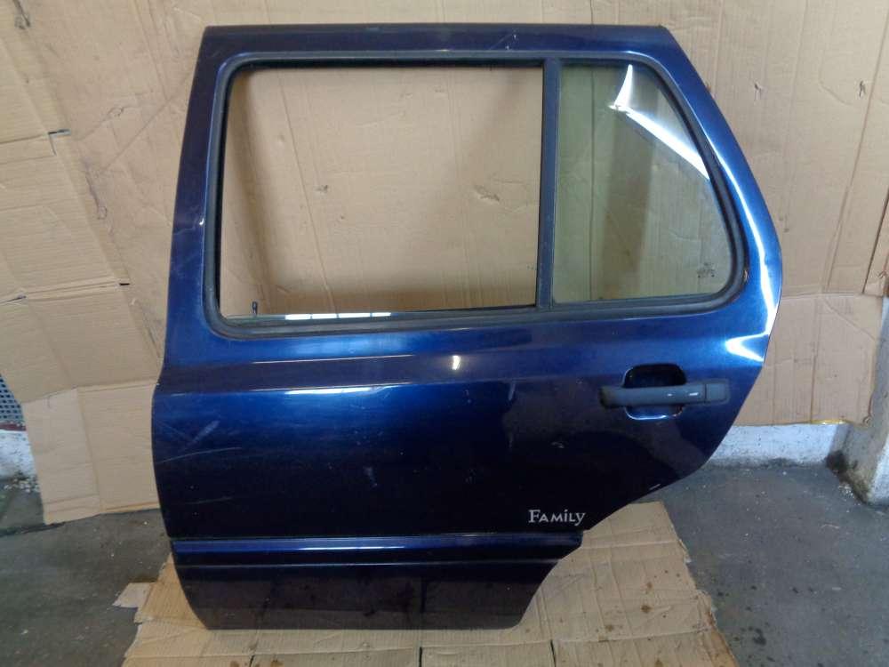 VW Golf 3 Bj:1997 Tür Hinten Links Farbe: Dunkeblau