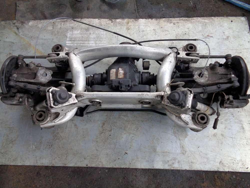 BMW E39 5er Hinterachse Bremsscheiben Radnaben mit Differential Hinterachsgetriebe 1428575