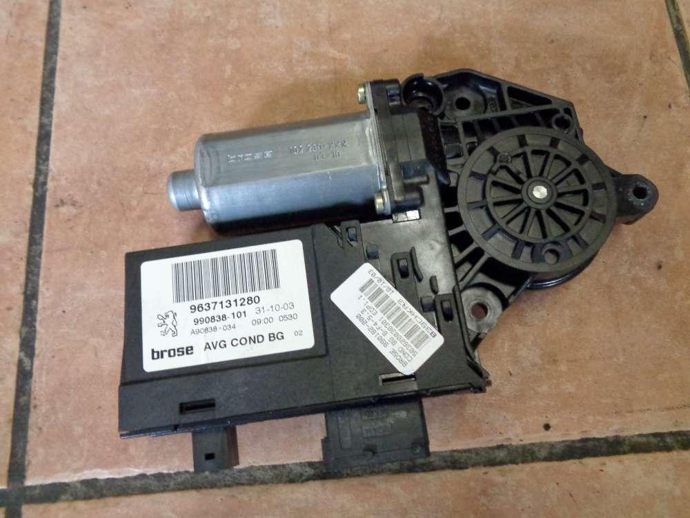Peugeot 307 Bj 2004 3-türen Tür Fensterhebermotor Vorne Links 9634457580