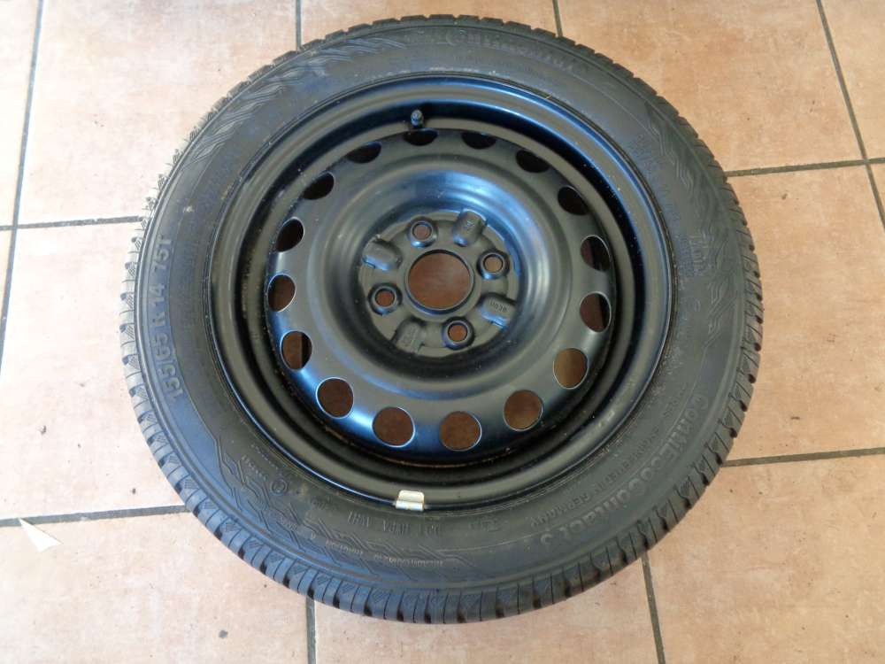 Continental Reserverad Rad für Toyota 155 / 65 R14 75T  4 1/2Jx14H2