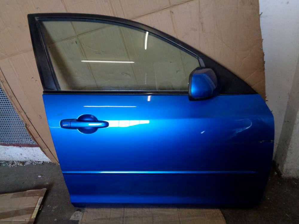 Mazda 3 BK Tür Vorne Rechts Blau : 27B