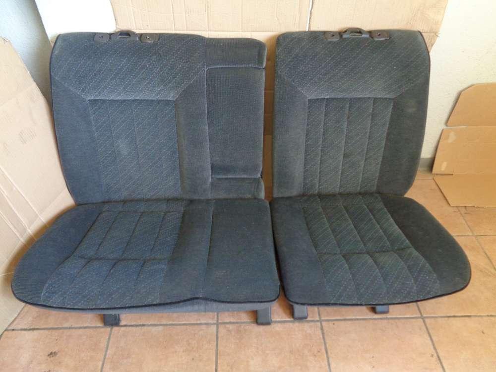 VW Passat 35i Sitze Rücksitzbank Rücksitze Stoff Grau