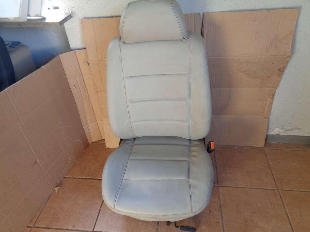 VW Golf 3 Cabrio 3Türer Bj:1995 Sitz Beifahrersitz Vorne Rechts Leder grau