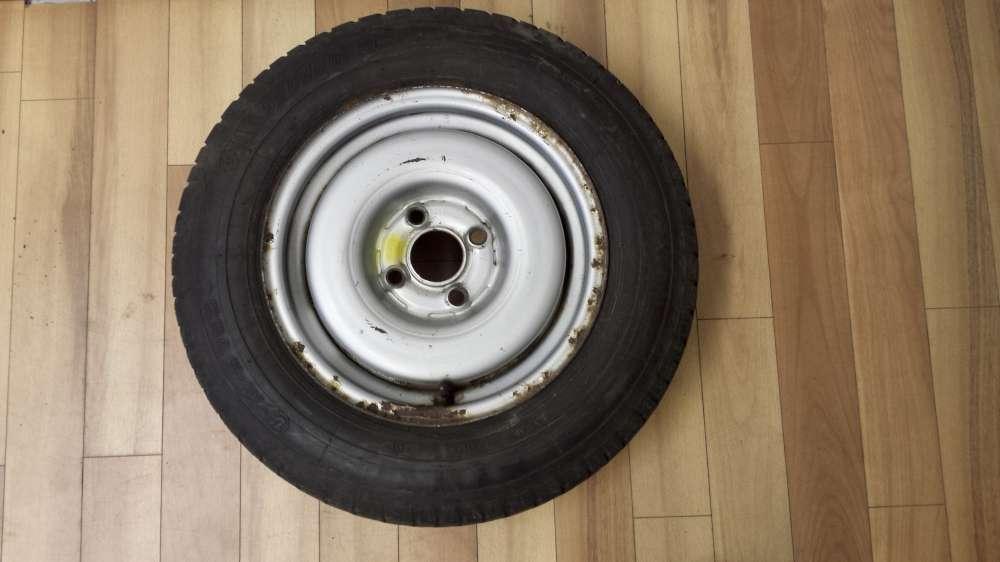 1 x Winterreife Stahlfelge für VW Golf 2 155/80 R13 79Q  5,5Jx13H2  ET38  M+S