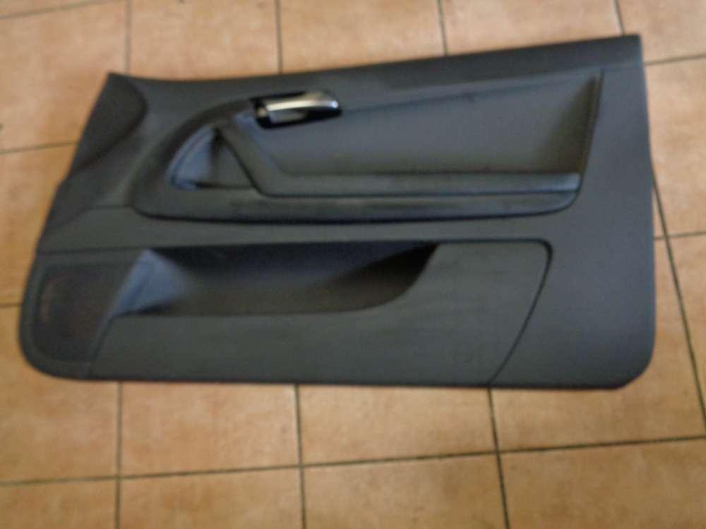 Audi A3 8P Tür Türverkleidung Türpappe Vorne Rechts