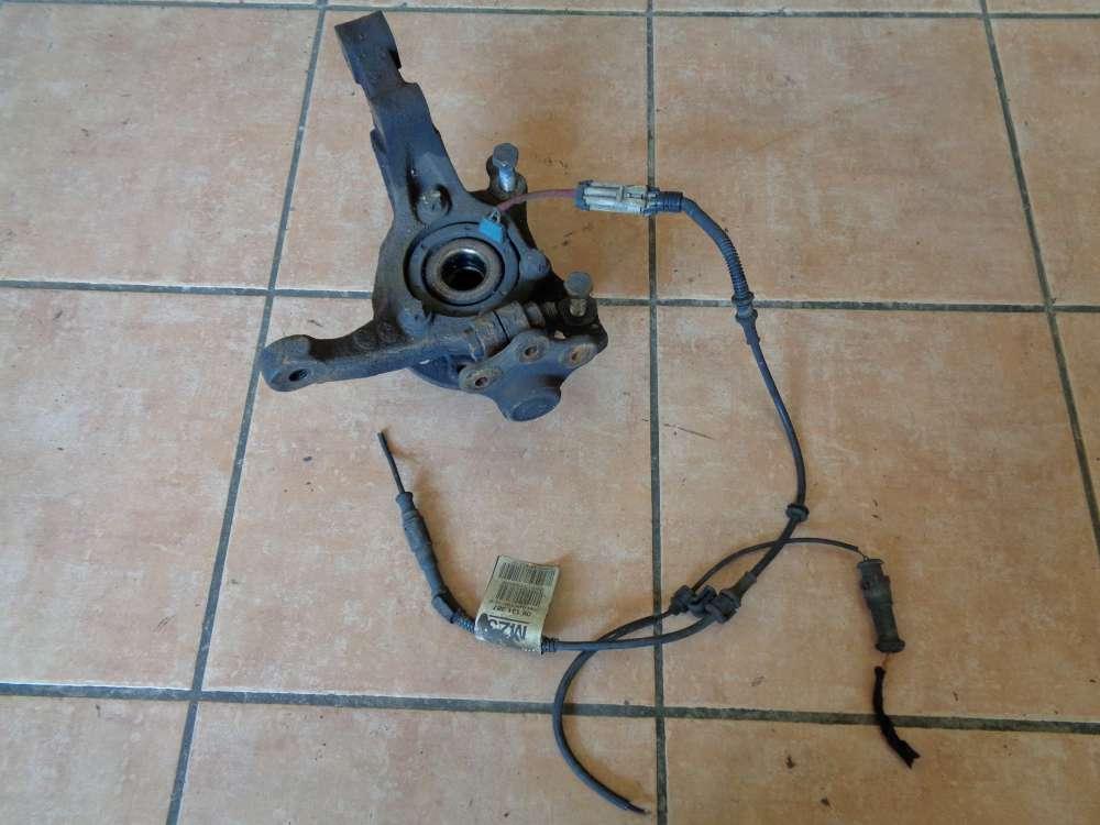 Opel Zafira A Radnabe Achsschenkel Vorne Links mit ABS Sensor 09131387