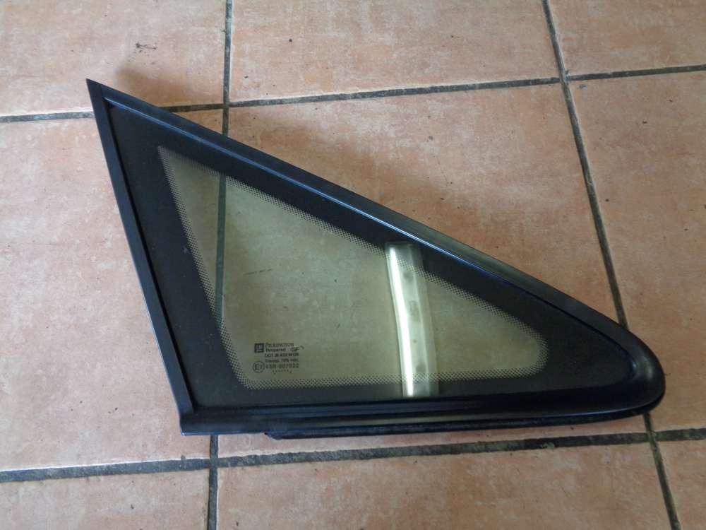 Opel Zafira A Seitenfenster Dreieckfenster Vorne Rechts