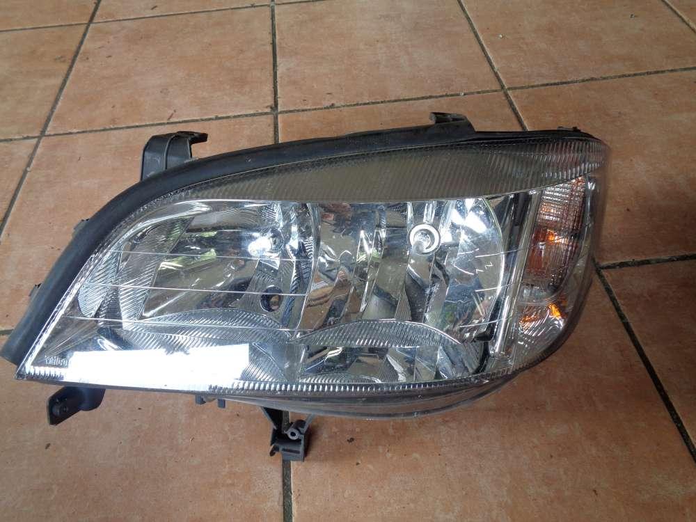 Opel Zafira A Frontscheinwerfer Scheinwerfer Links 90582021