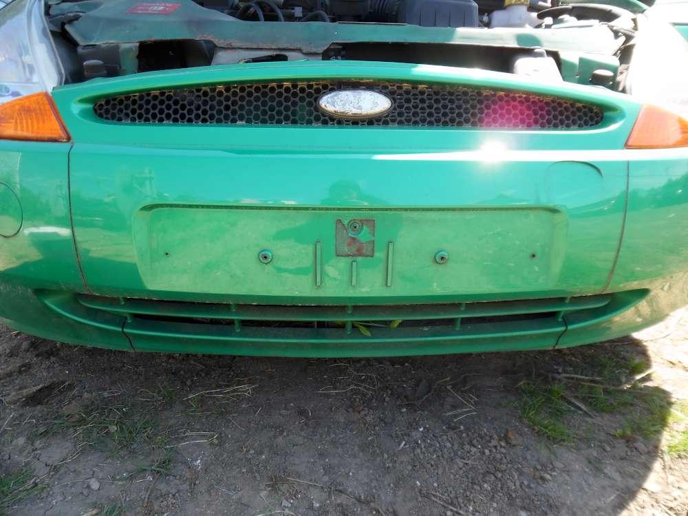 Ford Ka Bj:2000 3Türer Stoßstange Vorne Grün Farbcode:RBT