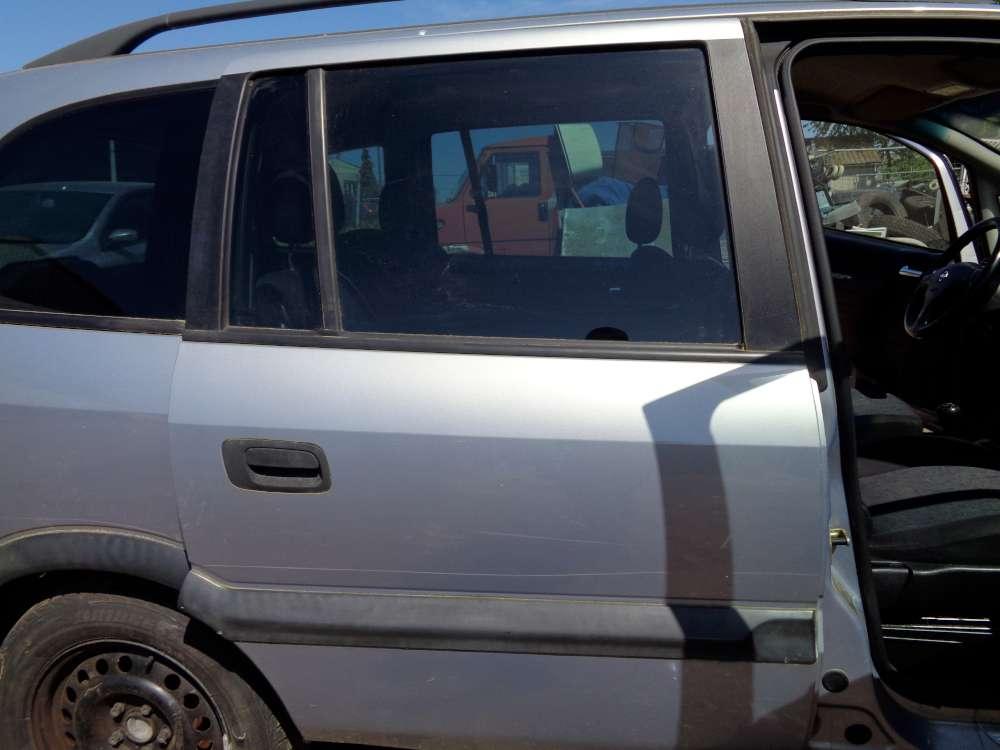 Opel Zafira A Tür Hinten Rechts Grau Farbcode : Z151