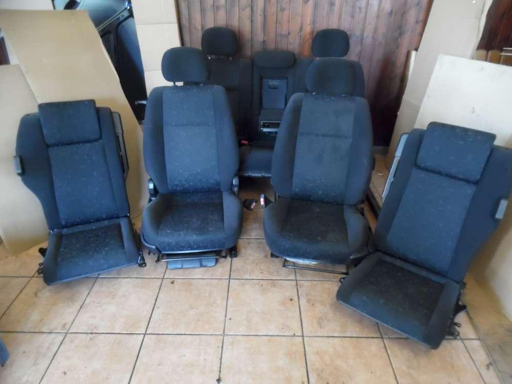 Opel Zafira A Sitze Innenausstattung Komplett Stoff grau ( 7 sitze )