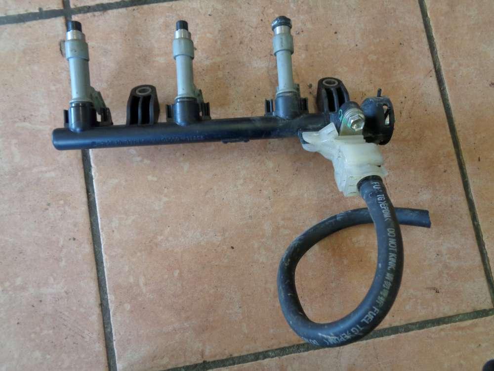 Peugeot 107 Einspritzleiste Einspritzdüsen 23814-0Q010A